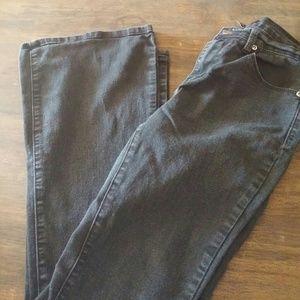 Forever 21 Black jeans Size 26 Jr Flare